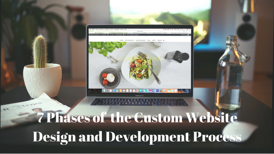 7 Stages of the Custom Website Design and Development